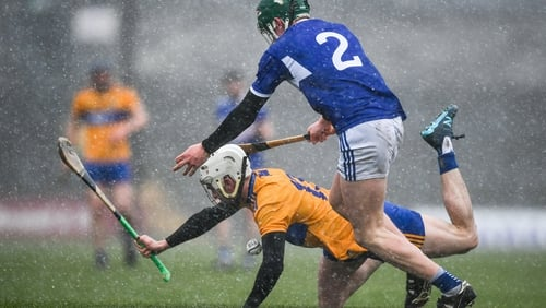 The game at Cusack Park went ahead