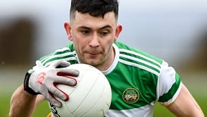 Ruairi McNamee top-scored for Offaly with 1-04