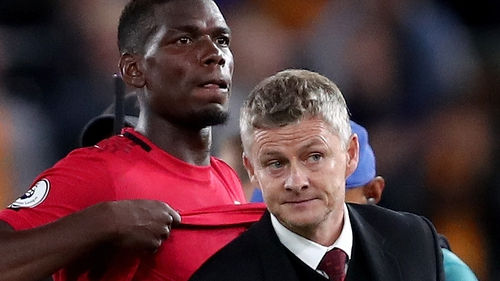 Ole Gunnar Solskjaer says Paul Pogba is nearing a return to action