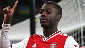 Nicolas Pepe scored a goal and provided two assists