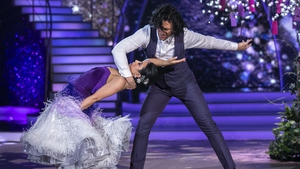 Lottie Ryan and Pasquale La Rocca dancedthe Viennese Waltz and topped the leaderboard