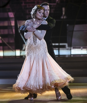 Mary and John scored 16 for their Viennese Waltz