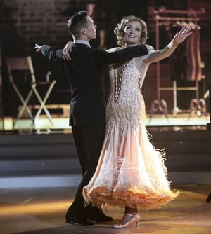 Mary Kennedy and John Nolan danced the Viennese Waltz to Dermot Kennedy's What Have I Done