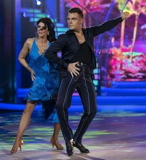 Sinéad O'Carroll and Ryan McShane danced the Samba to Hr Troels' La Isla Bonita