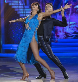Sinéad and Ryan scored 24 points for their Samba