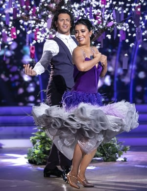Lottie Ryan and Pasquale La Rocca danced the Viennese Waltz to Ronan Keating and Emeli Sandé's One of a Kind