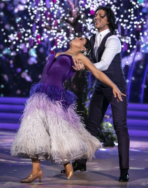 Lottie and Pasquale scored 28 for their Viennese Waltz