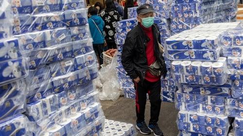 Hong Kongers have been stockpiling toilet roll during the coronavirus outbreak
