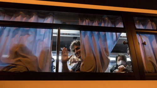 Virus-hit Indians on Japan ship await relief