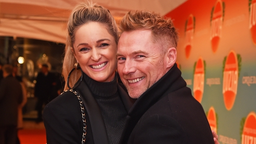 Proud parents - Storm and Ronan Keating