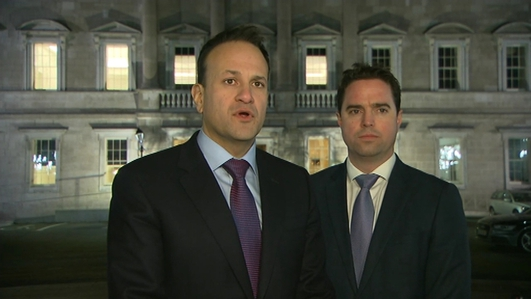Fine Gael says it is 'preparing to go into Opposition'