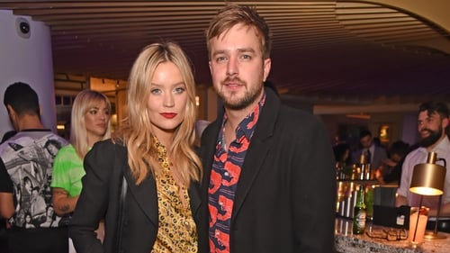 Iain Stirling with girlfriend Wicklow presenter Laura Whitmore