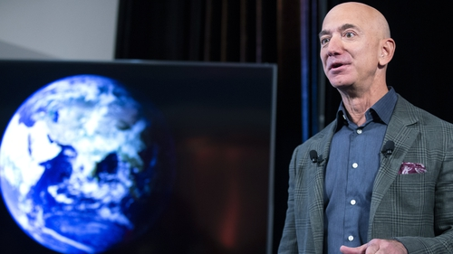 Amazon founder launches Bezos Earth Fund saying 'climate change is the biggest threat to our planet'