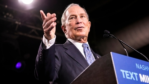Michael Bloomberg is targeting Super Tuesday in March