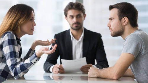 """""""A graduated response to dispute resolution can beginwith less adversarial approaches though mediation"""". Photo: Getty Images"""