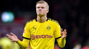 Lucky for some - Erling Haaland has scored 13 goals in 13 matches for Dortmund