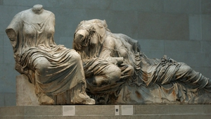 British diplomat Lord Elgin removed the sculptures from the Parthenon temple in Athens in the early 19th century