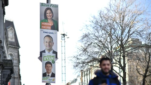 """""""What would happen if we removed posters from our electoral process?"""" Photo: Ben Stansall AFP via Getty Images"""