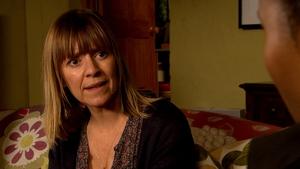 Terror for Rhona on Emmerdale this week