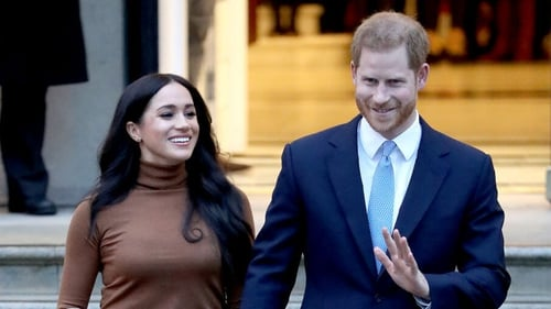 From today the couple will no longer be working members of the British monarchy