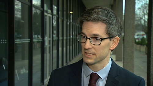 Dr Ronan Glynn said people are at 'greater risk from flu at the moment than they are from the coronavirus'
