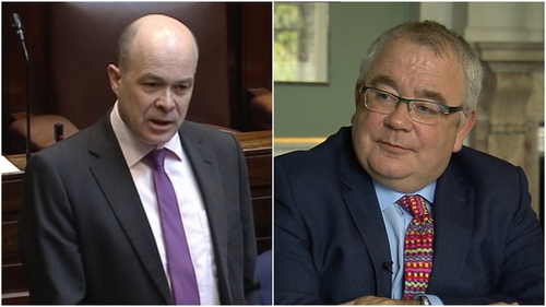 Denis Naughten and Seán Ó Fearghaíl are in contention for the job of Ceann Comhairle