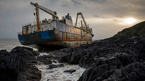 The MCIB found that the likelihood of pollution as the wreck breaks up is high, and will remain so until it is removed