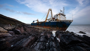 MV Alta: 2,295 tons of rusting steel which need to be removed from the Irish coast