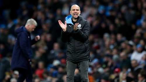Pep Guardiola underlines his commitment to City