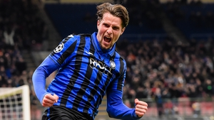 Hans Hateboer scored two for red-hot Atalanta