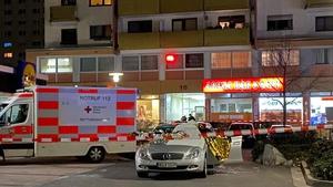 The shootings happened at two shisha bars in the city of Hanau
