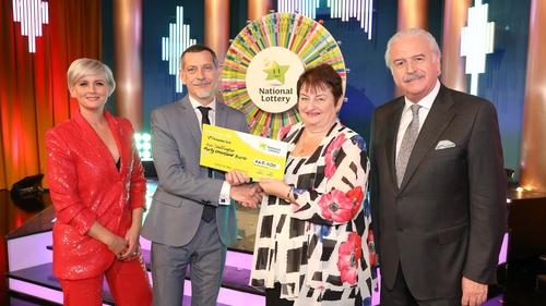 Ann Skeffington won €40,000 on Winning Streak in November last year