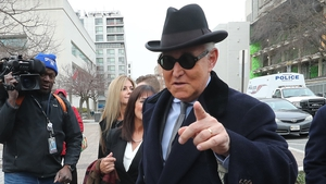Roger Stone was convicted in November of lying to Congress