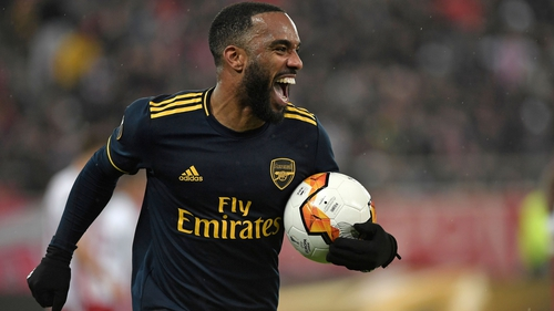 Alexandre Lacazette slotted home the decisive goal