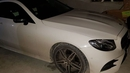 A 171-registered white AMG Mercedes Benz C200 coupe was seized, along with €5,000 in cash