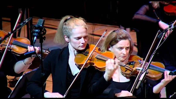 RTÉ Concert Orchestra first violinist Bróna Cahill