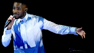 Rapper Dave performing at this year's Brit Awards