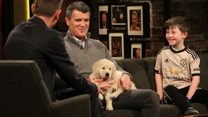 Roy Keane was for once lost for words when he met Donegal youngster Daragh Curley on Friday night's Late Late Show