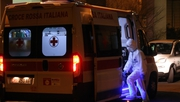 One of those infected by Coronavirus was brought by ambulance to Sacco Hospital in Milan