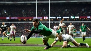 Jacob Stockdale will make his first appearance of the campaign
