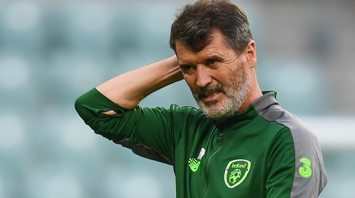 Roy Keane was Republic of Ireland assistant manager from 2013 to 2018