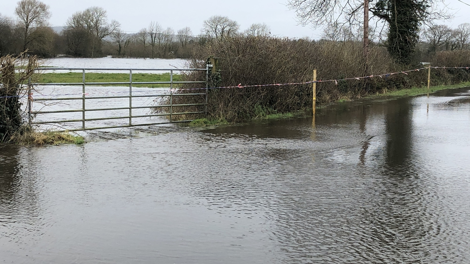 Flood defences along Shannon as rainfall warning issued