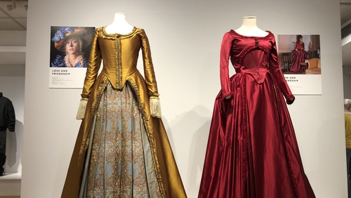 The exhibition features 33 costumes from 19 well known film and television productions, all revealed up close with exquisite detail