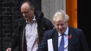 Dominic Cummings left Boris Johnson's staff suddenly late last year
