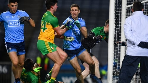 Paul Mannion pounced for the all-important goal