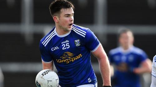 Thomas Galligan struck a crucial goal for Cavan