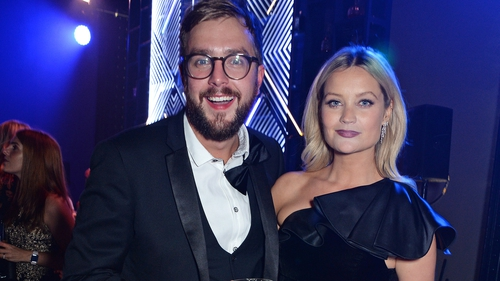 Iain Stirling and Laura Whitmore