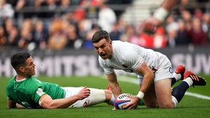Johnny Sexton gifted England an early try