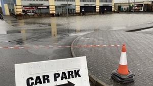 The business community say that while land and some car parking in the town has been flooded, they remain open for business