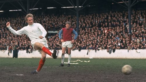 Law scores from the spot against West Ham at Upton Park in 1970.